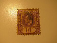Straits & Settlements, British, Postage Stamp, #116 F-VF 1908