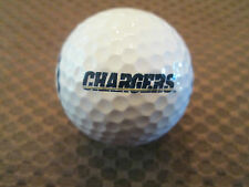 LOGO GOLF BALL-NFL..SAN DIEGO CHARGERS.....FOOTBALL LOGO...DIFFERENT..