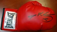 SUGAR RAY LEONARD AUTOGRAPHED SIGNED RED EVERLAST BOXING GLOVE RH PSA/DNA