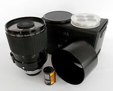 Superba Sigma 600mm f8 Multi-Coated lente a specchio Vestito in Canon FD Mount