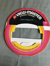 Vintage Sawyer View-Master Lighted Stereo Viewer unused packaging set of 3