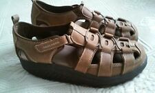 SZ 8 Women's Skechers Shape-Ups Sport  Sandals Shoes Brown Fisherman EUC!