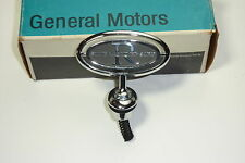 NOS 1988 Buick Riviera Silver Anniversary Hood Ornament Emblem Oem with base