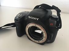 Sony Alpha 550 14,2 MP Digitalkamera - Schwarz body