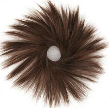 chouchou peruk cheveux châtain foncé cuivré ref: 21 en 31