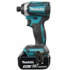 MAKITA DTD154Z 18V LI-ION LXT BRUSHLESS IMPACT DRIVER & BL1850B 5.0AH BATTERY
