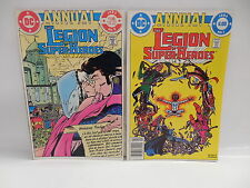 Legion Of Super-Heroes Annual 1 & 2 Keith Giffen Lightning Lad Saturn Girl