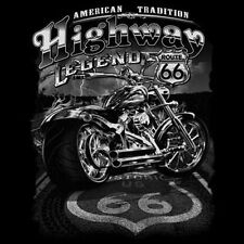 T-Shirt Chopper Biker Highway Legend Route 66 XXXXL XXXXXL XXXXXXL