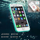 Waterproof  Shockproof Hybrid Rubber TPU Phone Case Cover For iPhone 6 6 Plus