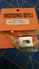 Motors ETC 1640 16D Can Chrome 1 Hole w/Oilite 1/24 slot car from MidAmericaNap