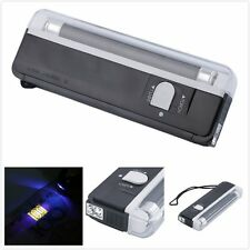 Handheld Portable UV Led Light Torch Lamp Counterfeit Currency Money Detector IM