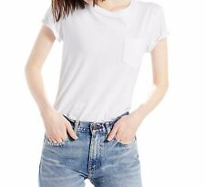Levi's The Perfect Pocket T-Shirt, White large