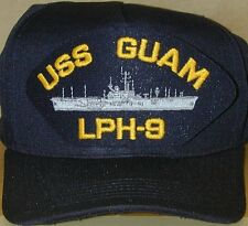 NEW BALL CAP HAT USN NAVAL USS GUAM LPH-9 US NAVY SHIP ASSAULT ALLIGATOR