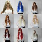 Women Long Full Curly Fancy Dress Party Wigs Cosplay Costume Ladies Wig Dress UP