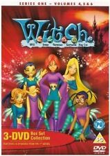 W.I.T.C.H Series 1 Volumes 4-6 DVD WITCH Box Set Original UK Rel R2 New Sealed