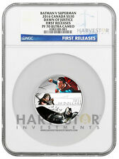2016 BATMAN V SUPERMAN: DAWN OF JUSTICE $30 2 OZ. - NGC PF70 FIRST RELEASES UCAM