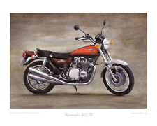 """Kawasaki 900 Z1 (1973) -  Limited Edition Collectors Print (of 50 only) 20""""x16"""""""