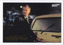 JAMES BOND 2016 CLASSICS THE WORLD IS NOT ENOUGH GOLD PARALLEL #31 032/125