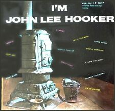 I'M JOHN LEE HOOKER sealed early recordings Vee Jay Records side 1 solo vinyl LP