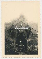 Foto Soldaten Arbeitsdienst -Ärmelband    2.WK (b169)
