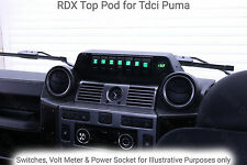 RDX Top Baccello per Land Rover Defender Puma 2.2 & 2.4 TDCi Interruttore Pannello Cruscotto