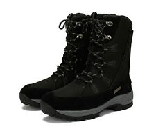 Womens Girls Winter outdoor snow ski boots fur warm waterproof lace up shoes new