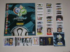 WORLD CUP GERMANY 2006 PANINI - Album new empty + set of 597 stickers 100% Full