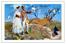 JULIE ANDREWS & DICK VAN DYKE MARY POPPINS AUTOGRAPH SIGNED PHOTO PRINT