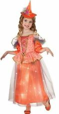 Youth Girl (Rubie's) Sweetheart Witch Light Up Costume - Sz M (Ages 5-7) NEW