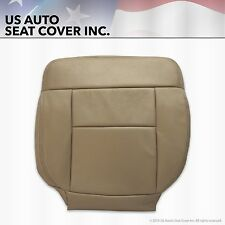 2005 2006 2007 2008 Ford F150 FX4 Crew Cab Driver Bottom Leather Seat Cover Tan