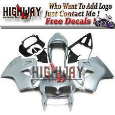 Fairings For Honda VFR800 98 99 00 01 2001 ABS Fairing Kit Bodywork Silver New