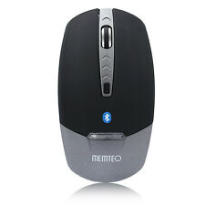 MEMTEQ Bluetooth Wireless 4D Mouse Mice LED Optical 1600DPI for Laptop Tablet PC