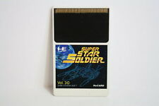 Super Star Soldier HUCARD Hu Card HU-CARD PC Engine PCE Japan Import US Seller