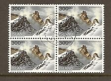 Iceland - used Block of 4 - Sc# 737