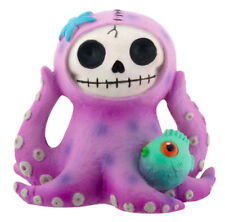 Furry Bones PURPLE OCTOPEE the Octopus Figurine, Skeleton in Costume, NIB