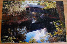 Lovejoy Covered Bridge Jigsaw Puzzle Andover Maine