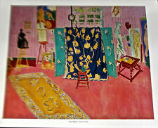 Henri Matisse Poster of The Pink Studio-Interior Imagery Offset Lithograph 14x11