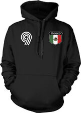 Mexico Flag Crest Mexican National Soccer Football Sports Pride Hoodie Pullover
