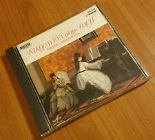 ◆FREESHIPPING◆TATYANA NIKOLAYEVA「PLAYS BACH」JAPAN MEGA RARE CD EX◆VDC-503