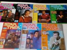 STAR TREK MONTHLY COMIC x 7 ISSUES LOT