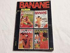 """4 revues BD CUL 1984 """" BANANE """" PHOTOS et DESSINS PORNO VARENNE,PICHARD,LECLAIRE"""