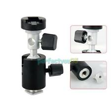 C Type 360° Swivel Flash Shoe Umbrella Holder Light Stand Tripod Bracket Adapter
