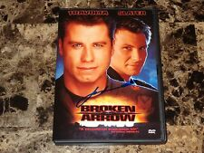 John Travolta Rare Authentic Hand Signed Broken Arrow Movie Film DVD + Photo WOW