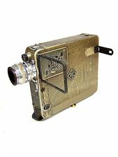 Vintage Art Deco 1930s SIMPLEX POCKETTE MOVIE CAMERA w/ Kodak f/1.9 25mm Lens