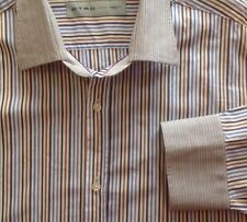 Etro Men's Shirt, Made in Italy, 100% Cotton, Size 44 (USA XL)
