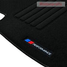Velours Logo PB Performance Fußmatten für BMW 5er F10 Limousine ab Bj.07/2013