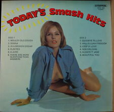 TODAY'S SMASH HITS RARE COMPIL' 70's SEXY NUDE CHEESECAKE COVER UK PRESS LP