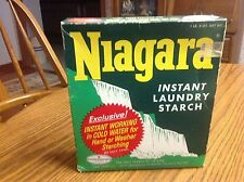 Vintage Advertising Soap Box Niagara Instant Laundry Starch Box Best Foods