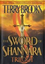 The Sword of Shannara Trilogy by Terry Brooks 25th Anniversary 1st ED, 8th print