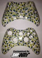 Custom húmedas Minions Blanco Xbox 360 Wireless Controller Shell Despicable Me